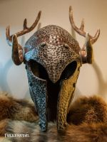 Skyrim female Ancient Nord Helmet by Folkenstal