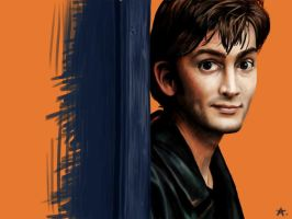 Tenth Doctor by SpaceDemented