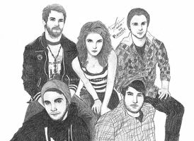 paramore by triaxtrooper