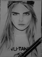 Cara Delevigne by earllison