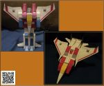 Transformable Starscream by tom062