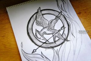 The Mockingjay by isangkilongkamera