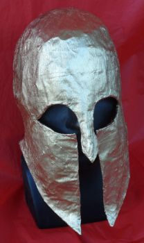 Early Corinthian Helmet. by SylvanSmith