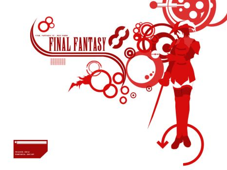 FFXI Redmage Wallpaper by lur