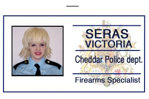 police Seras Id badge by hiddentalent1