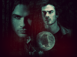 Damon Salvatore :3 by llWickedll