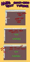 Text Tutorial by anime-angel-in-dark