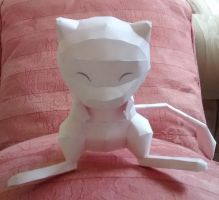 Mew papercraft by Amber2002161