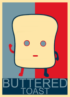 Buttered Toast by Sad-Auna