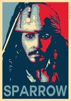 Captain Jack Sparrow - Hope Poster by ArtClem