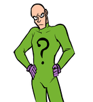 spandex riddler by Authenti