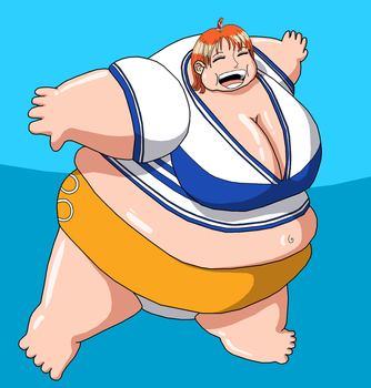 Request: Nami on Parade by Gemble