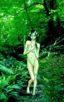 Forest Nymph by VisualPoetress
