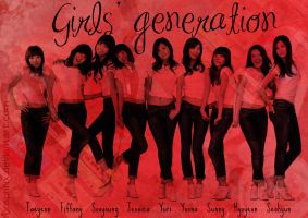 Girls' Generation by GraPHriX