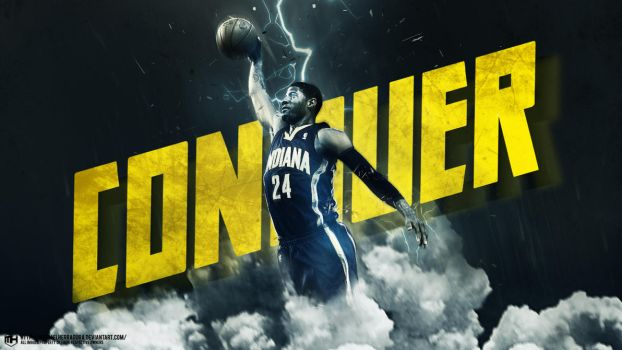 Paul George Conquer wallpaper by michaelherradura