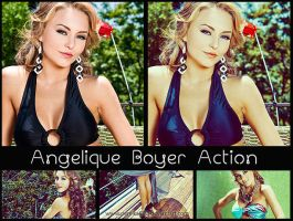 Angelique Boyer Action by perelka880
