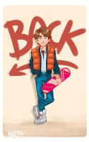 Marty Mcfly by MZ09
