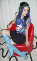Blue hair stock 12 by LilithsStock