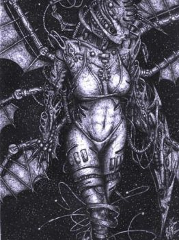 Omega Angel by ballpointmaster