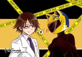DRRR - Celty Shinra by Sensyu