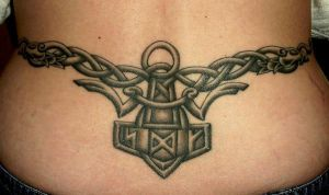 Viking Art Thorshammer 10 by DarkSunTattoo