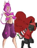 Be Mine by StitchParadox