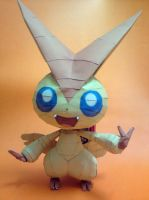 Victini Papercraft by riolushinx