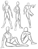 Even More Poses by Rt-001