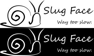 Slug face -logo by Nastii-chan