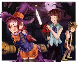 Halloween Scare by 5kanae5