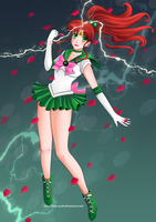 Sailor Jupiter by Dolly-wrath