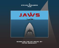 JAWS MOVIE Poster by tanman1