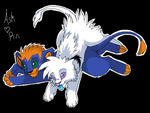 Ash and Rin cubs by Ash-Dragon-wolf