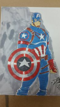 Civil War Captain America  by shushubag