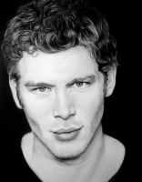 Joseph Morgan Charcoal Portrait by Paranoid-Universe