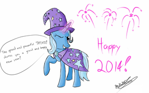 Trixie desires you a happy new year! by jonhy9816