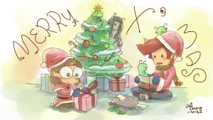 Merry Christmas 2014 by Zeon1309