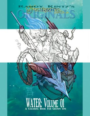 Coloring Book Cover by rantz