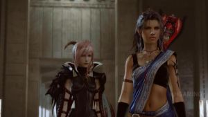 FFXIII-3 - Lightning and Fang by chicksaw2002