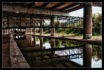 Paint under the HDR Bridge by Foxseye