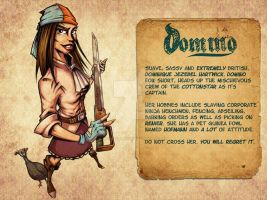 Cottonstar Profile: Domino by Ben-G-Geldenhuys