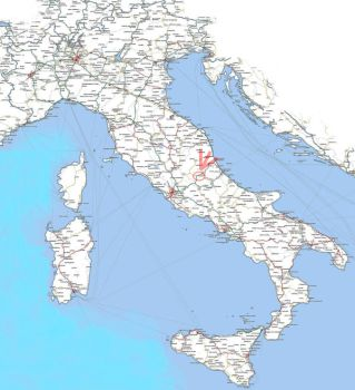 quake zone - abruzzo italy by vitforlinux