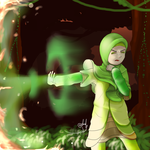 Aya Green Protector by artdeeb96