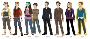 OCs and DWs by Girl-on-the-Moon