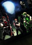 Young Justice Arrow Family by ErgoAsch