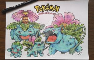 Pokemon Evolutions by suitae