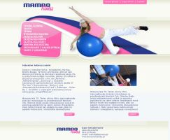 webdesign fitness by Magdusia