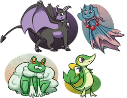 PKMNN - Comissions by Thalateya