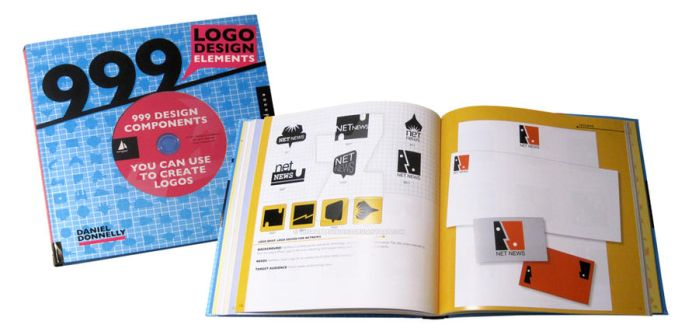 My new Logo Design book by unstablevisions