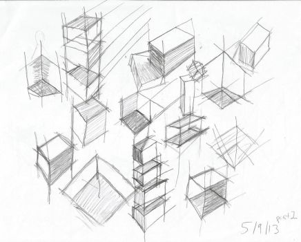 Day 9: pt 2: More XYZ cubes at different angles by DecoraAi